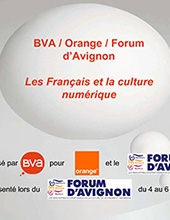 Sondage BVA-Orange pour le Forum d'Avignon